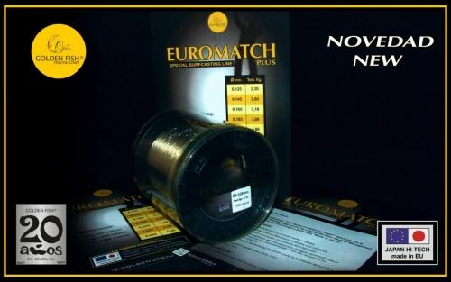 "GOLDEN FISH® EUROMATCH PLUS ""nuevo"""