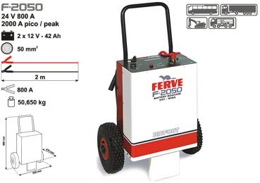 Arrancador Ferve F2050