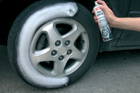 Abrillantador de neumáticos