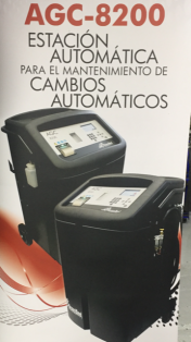 Estacion de cambio de aceite para cambios automáticos.