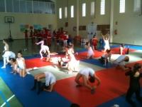 Actuación de las clases de jazz-fusion y ballet