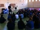 Actividad escocesa con David Vivanco