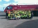 Los alumnos de Las Nieves visitan el Aeropuerto de Gran Canaria