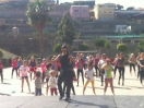 Clase de Zumba. Día mundial de la danza