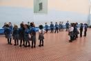 Escultura La Mirada. Alumnos 5 años B