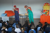 Concierto escolar itinerante 'Musijugando'