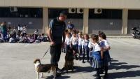 4 años visita la Comandancia de la Guardia Civil