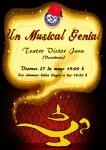 Un musical genial. Viernes 27 mayo 19:00 h