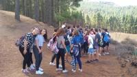 3ºESO de visita por los Altos de Santa María de Guía