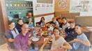 Almuerzo de los colaboradores en eventos del centro de Marzagán