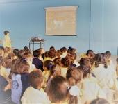 Fotos de las actividades del EcoParque y del cine en Marzagán