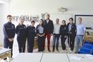 Visita de los diputados del Parlamento de Canarias