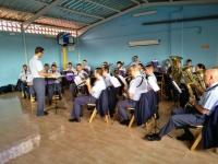 Concierto de la Banda de Aviación en el cole de Marzagán