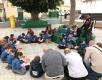 Jornada de lectura en la Plaza de Corea (Marzagán)