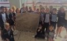 En clase en el cole de Marzagán 1ºT