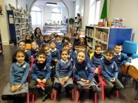 5 años Biblioteca Insular con paseo por Triana