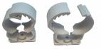 ABRAZADERA PVC 28 MM C/CIERRE DIENTES