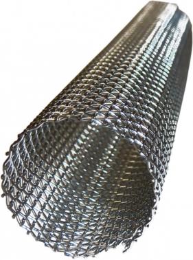 MALLA INOX. C/ FASTON P/LAMPARA 300 mm (90 x 250 mm.)