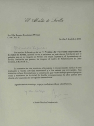 PREMIO TRAYECTORIA EMPRESARIAL AL CENTRO DE REHABILITACIÓN DE DAÑO CEREBRAL CRECER