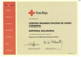 FIRMADO CONVENIO DE COLABORACIÓN CON CRUZ ROJA ESPAÑA