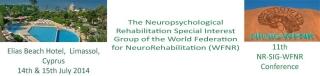 XI CONFERENCIA DEL GRUPO DE INTERÉS ESPECIAL EN REHABILITACIÓN NEUROPSICOLÓGICA DE LA  FEDERACIÓN MUNDIAL DE NEUROREHABILITACIÓN (WFNR)