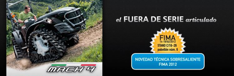 Novedad Técnica Sobresaliente 2012 - FIMA 2012