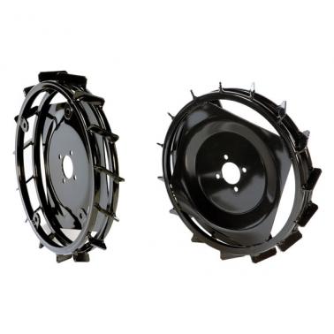 Par de ruedas metálicas 410 * 60