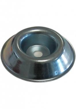 Tapa de acero ó copete protector de agujero 10 mm