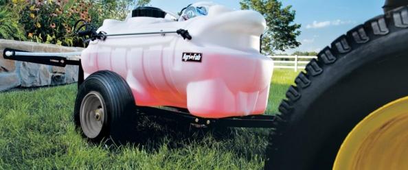 Sulfatadora arrastrada de 95 litros