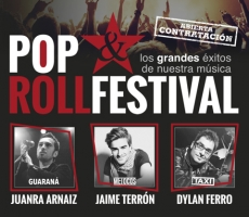 POP ROLLFESTIVAL(cantantes de:GUARANA+MELOCOS+TAXI)
