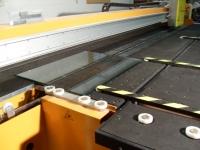 Mesa de corte vidrio laminar 1
