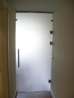 Puerta con montante