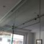 Mampara de oficina con corredera