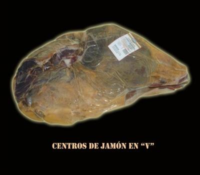 """CENTROS DE JAMÓN EN """"V"""""""