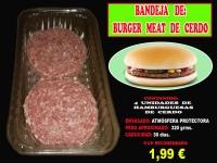 BURGER MEAT DE CERDO