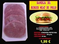 BURGER MEAT DE POLLO