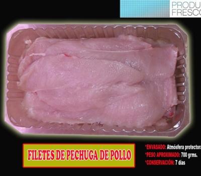 FILETES PECHUGA POLLO