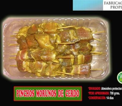 PINCHOS MORUNOS CERDO