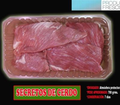 SECRETOS DE CERDO