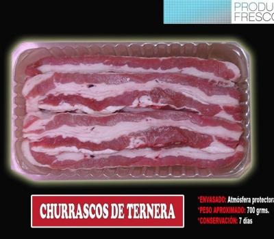 CHURRASCOS TERNERA