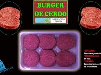 BURGER DE CERDO