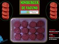 MINIBURGER DE VACUNO