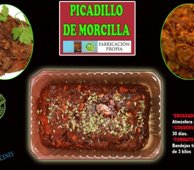 PICADILLO DE MORCILLA