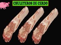 CHULETEROS DE CERDO