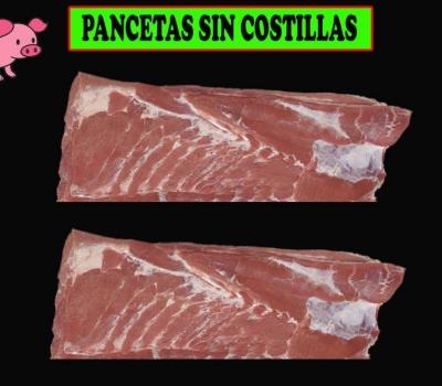 PANCETAS SIN COSTILLAS