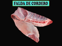 FALDA DE CORDERO