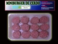 MINIBURGER DE CERDO