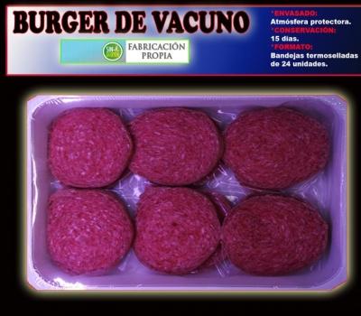 BURGER DE VACUNO