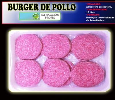 BURGER DE POLLO