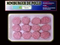 MINIBURGER DE POLLO